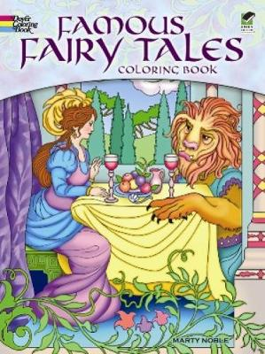 Famous Fairy Tales Coloring Book - Dover Coloring Books (Paperback)