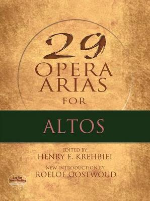 Twenty-Nine Opera Arias for Alto (Paperback)