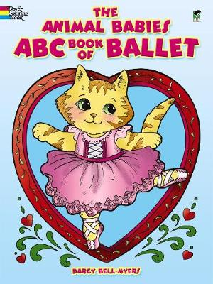 The Animal Babies ABC Book of Ballet - Dover Coloring Books (Paperback)