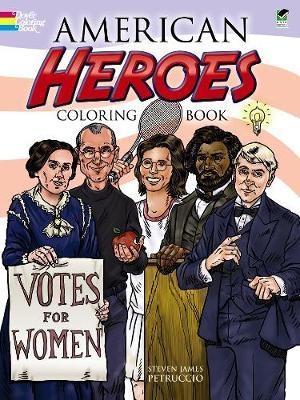 American Heroes Coloring Book (Paperback)