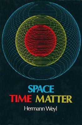 Space-time-matter - Dover Books on Physics (Paperback)