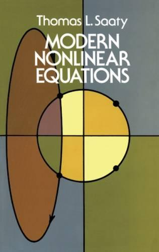 Modern Nonlinear Equations - Dover Books on Mathematics (Paperback)