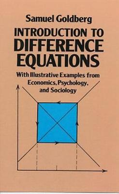 Introduction to Difference Equations - Dover Books on Mathematics (Paperback)