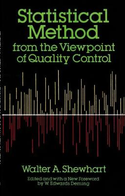 Statistical Method from the Viewpoint of Quality Control - Dover Books on Mathematics (Paperback)