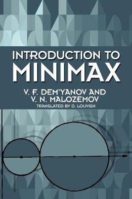 Introduction to Minimax - Dover Books on Mathematics (Paperback)