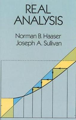 Real Analysis by Norman B  Haaser | Waterstones