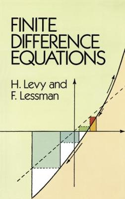 Finite Difference Equations - Dover Books on Mathematics (Paperback)