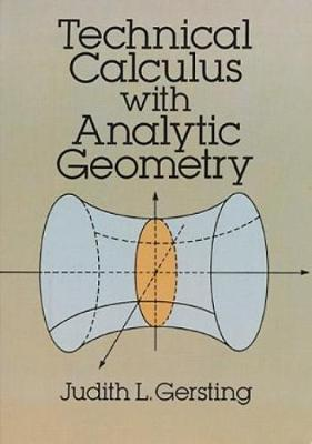 Technical Calculus With Analytic Geometry - Dover Books on Mathematics (Paperback)