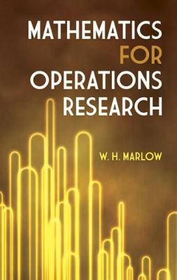 Mathematics for Operations Research - Dover Books on Mathematics (Paperback)