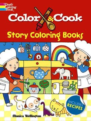 Color & Cook Story Coloring Book (Paperback)