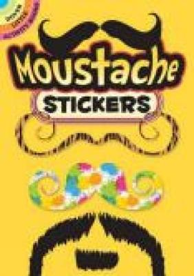 Moustache Stickers (Paperback)