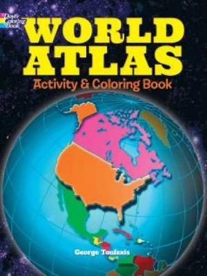 World Atlas Activity and Coloring Book (Paperback)