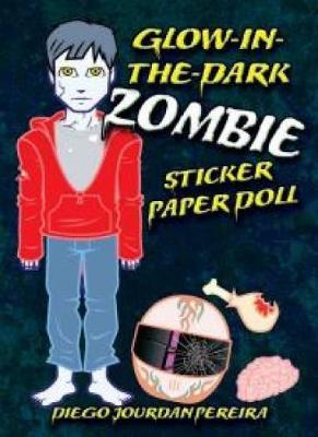 Glow-in-the-Dark Zombie Sticker Paper Doll (Paperback)