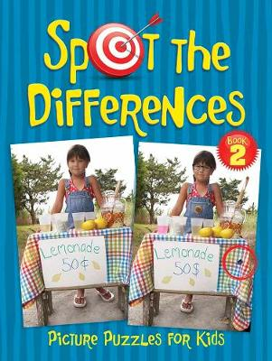 Spot the Differences Picture Puzzles for Kids 2 (Paperback)