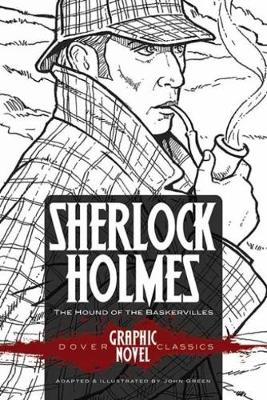 SHERLOCK HOLMES The Hound of the Baskervilles (Dover Graphic Novel Classics) (Paperback)