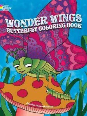 Wonder Wings Butterfly Coloring Book (Paperback)