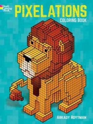 Pixelations Coloring Book (Paperback)