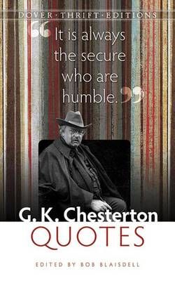 G. K. Chesterton Quotes - Dover Thrift Editions (Paperback)