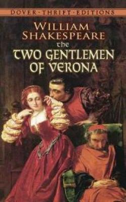 The Two Gentlemen of Verona - Dover Thrift Editions (Paperback)