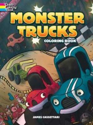 Monster Trucks Coloring Book (Paperback)