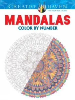 Creative Haven Mandalas Color by Number Coloring Book - Creative Haven Coloring Books (Paperback)