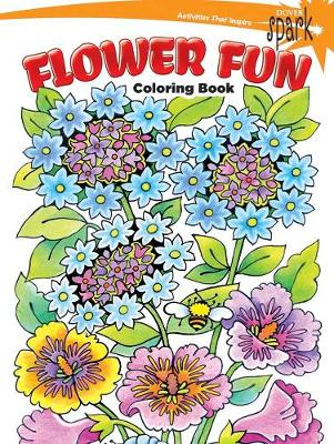 SPARK Flower Fun Coloring Book Paperback