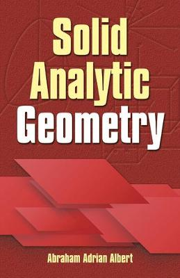 Solid Analytic Geometry (Paperback)