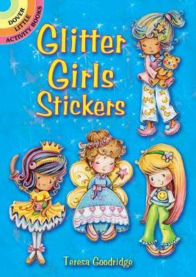 Glitter Girls Stickers (Paperback)