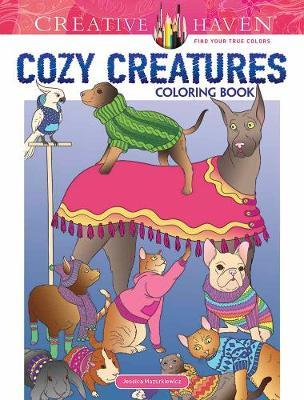 Creative Haven Cozy Creatures Coloring Book (Paperback)