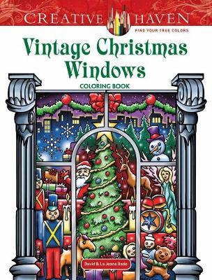 Creative Haven Vintage Christmas Windows Coloring Book (Paperback)