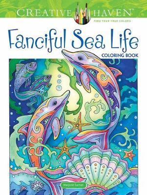 Creative Haven Fanciful Sea Life Coloring Book (Paperback)