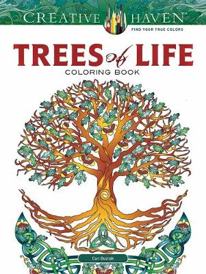 Creative Haven Trees of Life Coloring Book (Paperback)