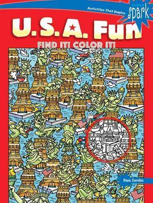 SPARK U.S.A. Fun Find It! Color It! (Paperback)