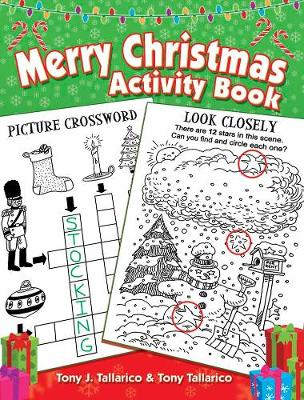 Merry Christmas Activity Book (Paperback)