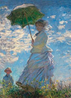 Woman with a Parasol Notebook (Paperback)