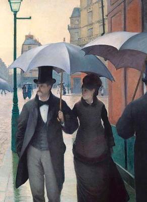 Paris Street; Rainy Day Notebook (Paperback)