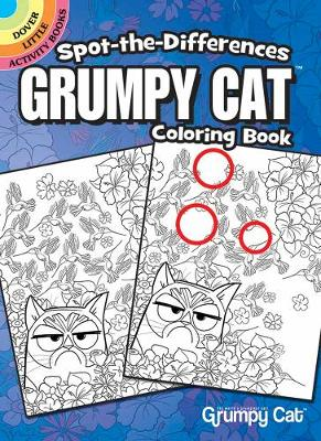 Spot-the-Differences Grumpy Cat Coloring Book (Paperback)