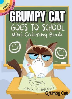 Grumpy Cat Goes to School Mini Coloring Book (Paperback)