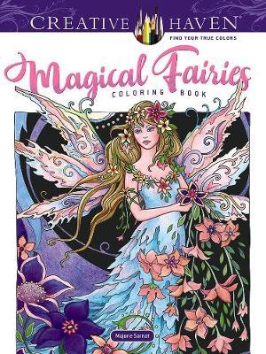 Creative Haven Magical Fairies Coloring Book (Paperback)