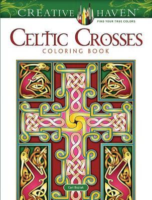 Creative Haven Celtic Crosses Coloring Book (Paperback)