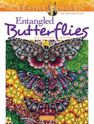 Creative Haven Entangled Butterflies Coloring Book (Paperback)