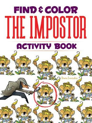 Find & Color the Impostor Activity Book (Paperback)
