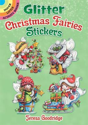 Glitter Christmas Fairies Stickers (Stickers)