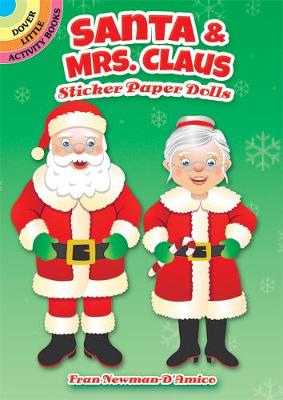Santa & Mrs. Claus Sticker Paper Dolls (Stickers)