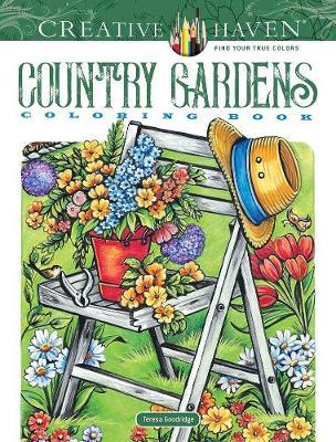 Creative Haven Country Gardens Coloring Book - Creative Haven (Paperback)