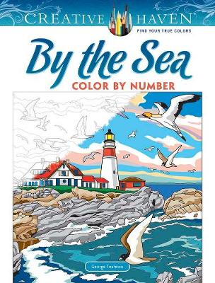 Creative Haven By the Sea Color by Number (Paperback)
