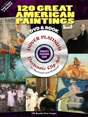 120 Great American Paintings - Dover Electronic Clip Art