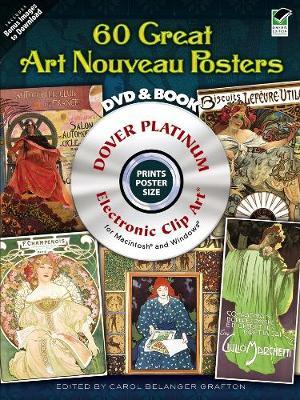 """120 Great """"Art Nouveau"""" Posters - Dover Electronic Clip Art"""