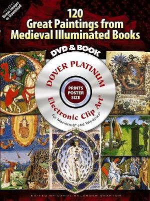 120 Great Paintings from Medieval Illuminated Books - Dover Electronic Clip Art