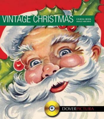 Vintage Christmas Designs - Dover Pictura Electronic Clip Art (Paperback)